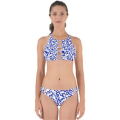 Dna Lines Perfectly Cut Out Bikini Set