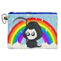 Cute Grim Reaper Canvas Cosmetic Bag (XL) View1