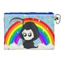 Cute Grim Reaper Canvas Cosmetic Bag (XL) View2