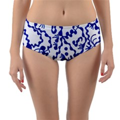 Direct Travel Reversible Mid Waist Bikini Bottoms