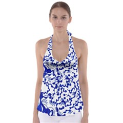Direct Travel Babydoll Tankini Top