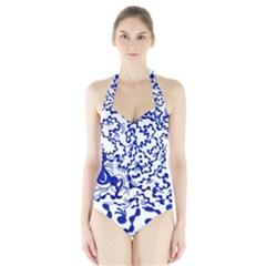 Direct Travel Halter Swimsuit