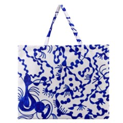 Direct Travel Zipper Large Tote Bag by MRTACPANS