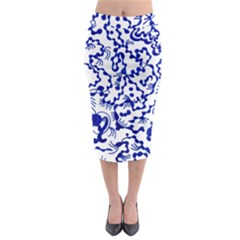 Direct Travel Midi Pencil Skirt