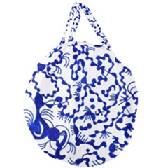 Direct Travel Giant Round Zipper Tote