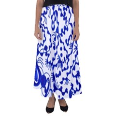 Direct Travel Flared Maxi Skirt