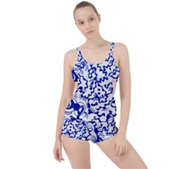 Direct Travel Boyleg Tankini Set