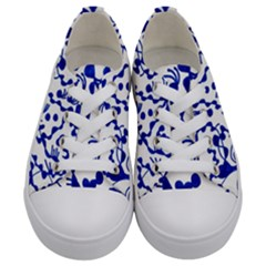 Direct Travel Kids  Low Top Canvas Sneakers