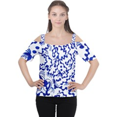 Dna Square  Stairway Cutout Shoulder Tee