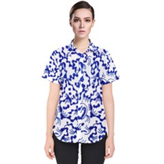 Dna Square  Stairway Women s Short Sleeve Shirt