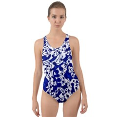 Direct Travel Cut Out Back One Piece Swimsuit