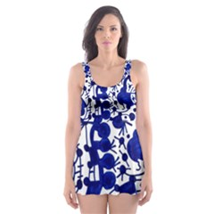 Direct Travel Skater Dress Swimsuit