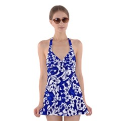 Direct Travel Halter Dress Swimsuit