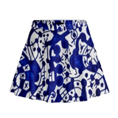 Direct Travel Mini Flare Skirt