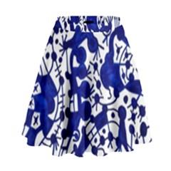 Direct Travel High Waist Skirt