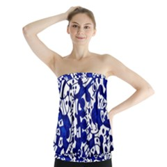 Direct Travel Strapless Top
