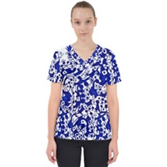Direct Travel Scrub Top