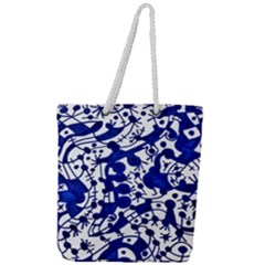 Direct Travel Full Print Rope Handle Tote (large)