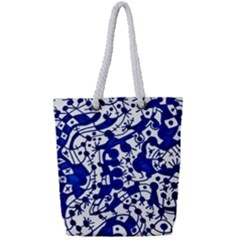 Direct Travel Full Print Rope Handle Tote (small)