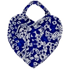 Direct Travel Giant Heart Shaped Tote