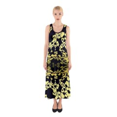 Dna Diluted Sleeveless Maxi Dress