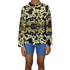 Dna Diluted Kids  Long Sleeve Swimwear