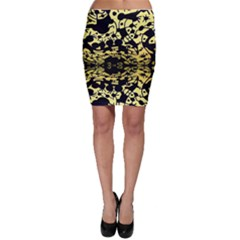 Dna Diluted Bodycon Skirt