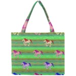 Rainbow Ponies Mini Tote Bag
