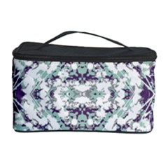 Modern Collage Pattern Mosaic Cosmetic Storage Case by dflcprints
