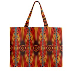 Geometric Extravaganza Pattern Mini Tote Bag by linceazul