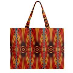 Geometric Extravaganza Pattern Zipper Mini Tote Bag by linceazul