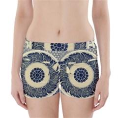 Background Vintage Japanese Boyleg Bikini Wrap Bottoms