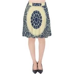 Background Vintage Japanese Velvet High Waist Skirt