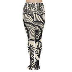 Background Abstract Beige Black Women s Tights