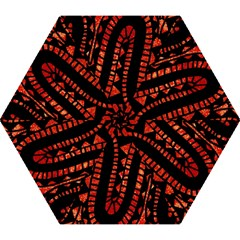 Background Abstract Red Black Mini Folding Umbrellas