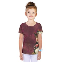 Vintage Edwardian Scrapbook Kids  One Piece Tee