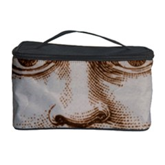 Moon Face Vintage Design Sepia Cosmetic Storage Case