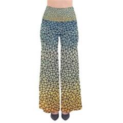 Background Cubism Mosaic Vintage Pants