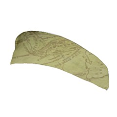 Vintage Map Background Paper Stretchable Headband
