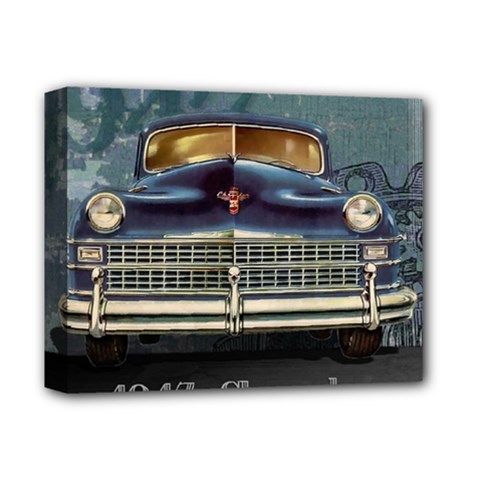 Vintage Car Automobile Deluxe Canvas 14  X 11  by Nexatart