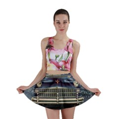 Vintage Car Automobile Mini Skirt