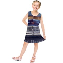 Vintage Car Automobile Kids  Tunic Dress