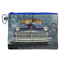 Vintage Car Automobile Canvas Cosmetic Bag (xl)