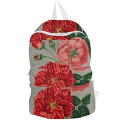 Flower Floral Background Red Rose Foldable Lightweight Backpack by Nexatart