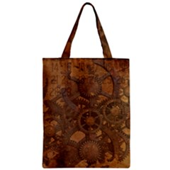 Background Steampunk Gears Grunge Classic Tote Bag