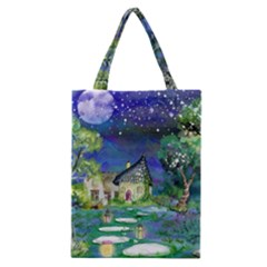 Background Fairy Tale Watercolor Classic Tote Bag