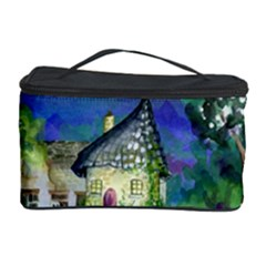 Background Fairy Tale Watercolor Cosmetic Storage Case