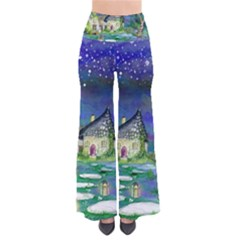 Background Fairy Tale Watercolor Pants