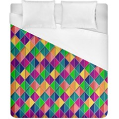 Background Geometric Triangle Duvet Cover (california King Size)