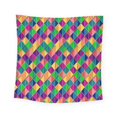 Background Geometric Triangle Square Tapestry (small)